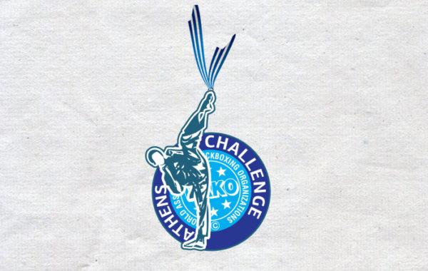 Athens Challenge Medal